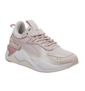 4bfe8f06 Puma Rs-x Tracks Trainers Pink Pink Peach White - Hers trainers ...