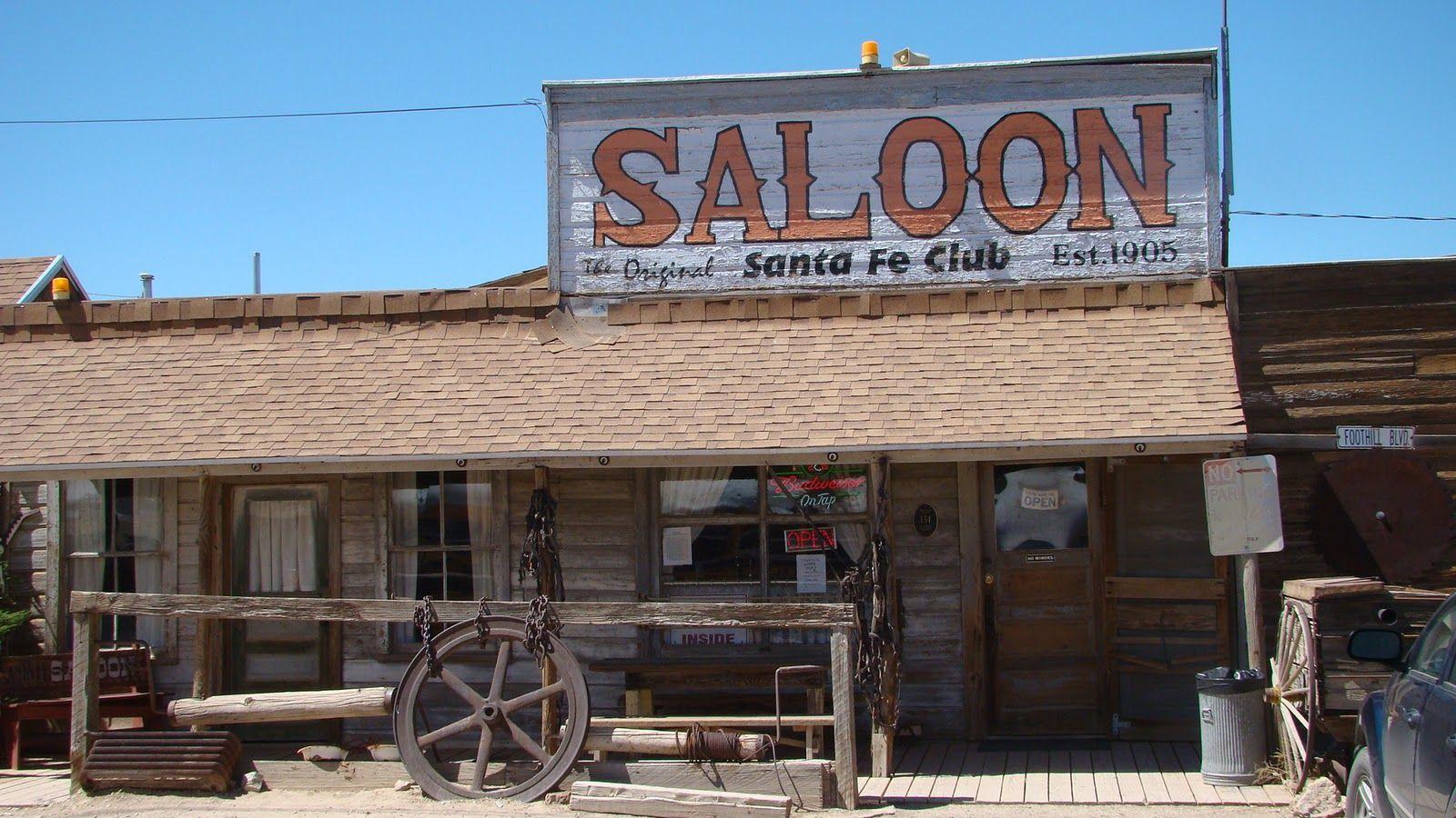 Santa Fe Saloon Goldfield Nevada Us Tonopah Nevada Nevada Tonopah