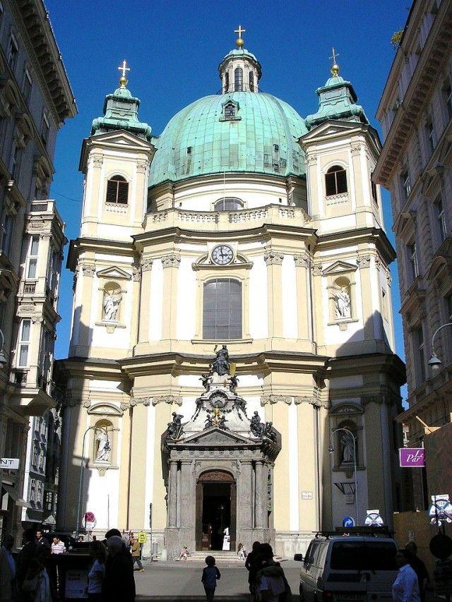 St Peter's Church, Vienna, Austria Churches