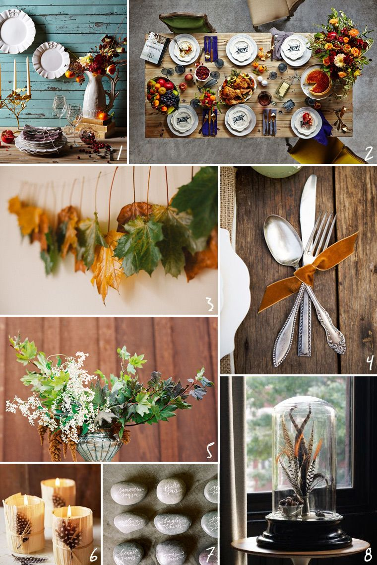 50 unique thanksgiving table ideas to buy diy creative Thanksgiving table decorations homemade