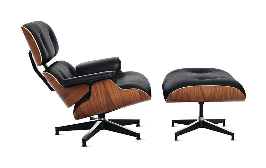 Eames® Lounge Chair and Ottoman | Chair, ottoman, Eames