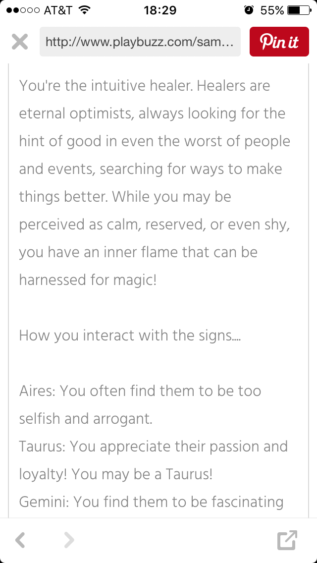 13 Picture Of My Result Of How I React With Zodiac Signs Based On