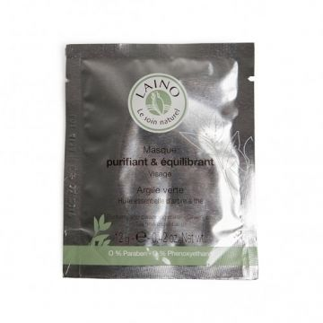Kleimasker, groene klei & tea tree olie, 12 gram