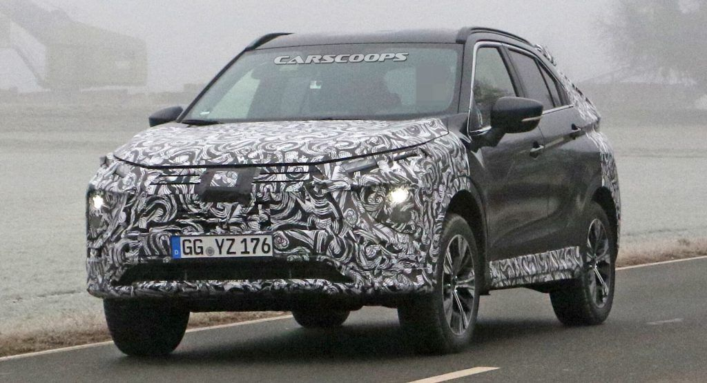 2021 Mitsubishi Eclipse Cross Makes Spy Debut With Updated Styling In 2020 Mitsubishi Eclipse Mitsubishi New Suv