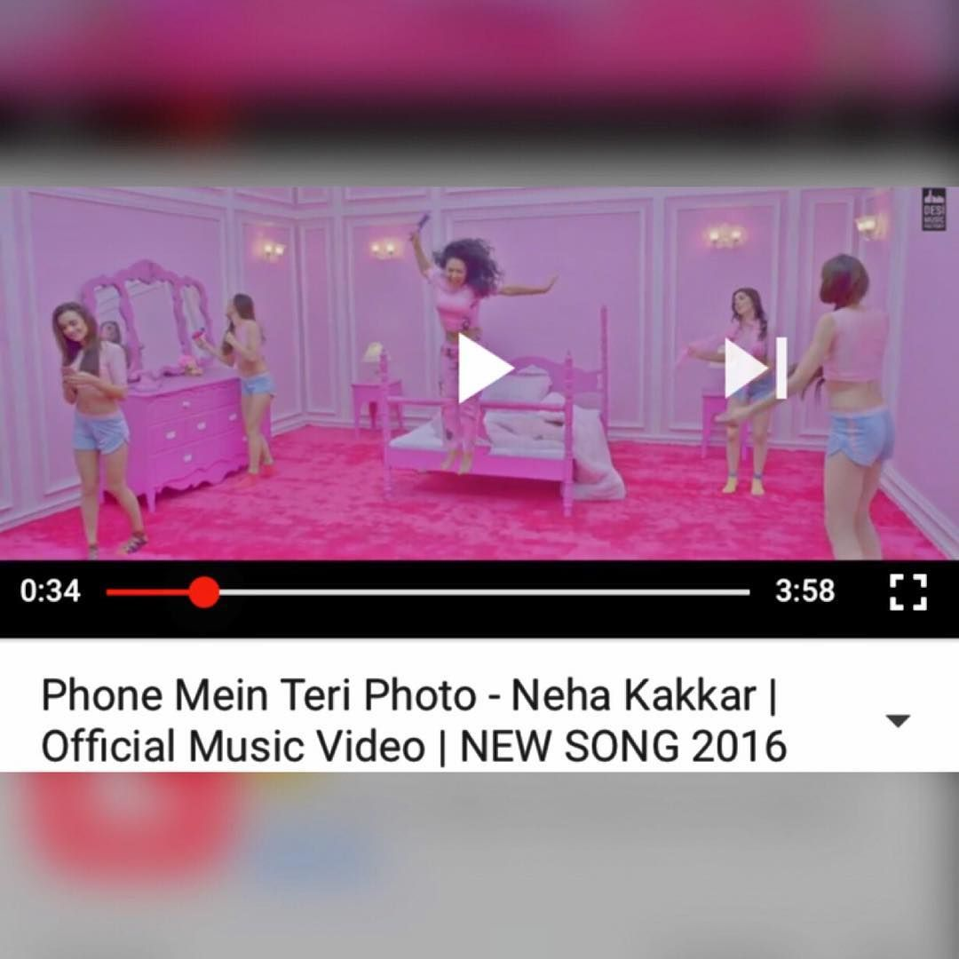 And Its Out Now Phone Mein Teri Photo Neha Kakkar Neha