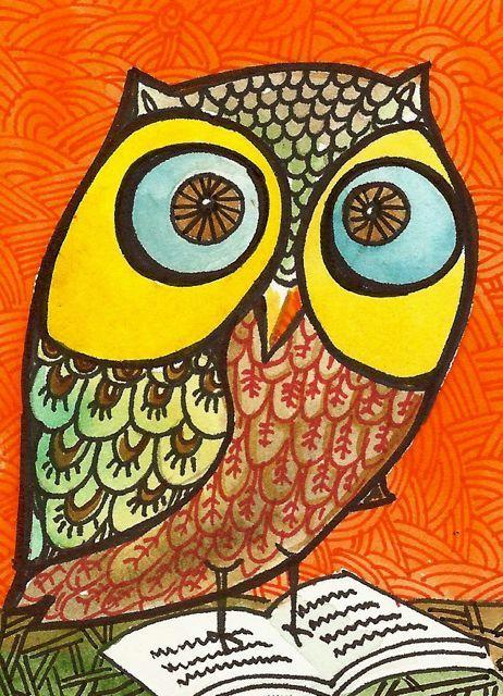 'Wise Owl' by Elina Lorenz
