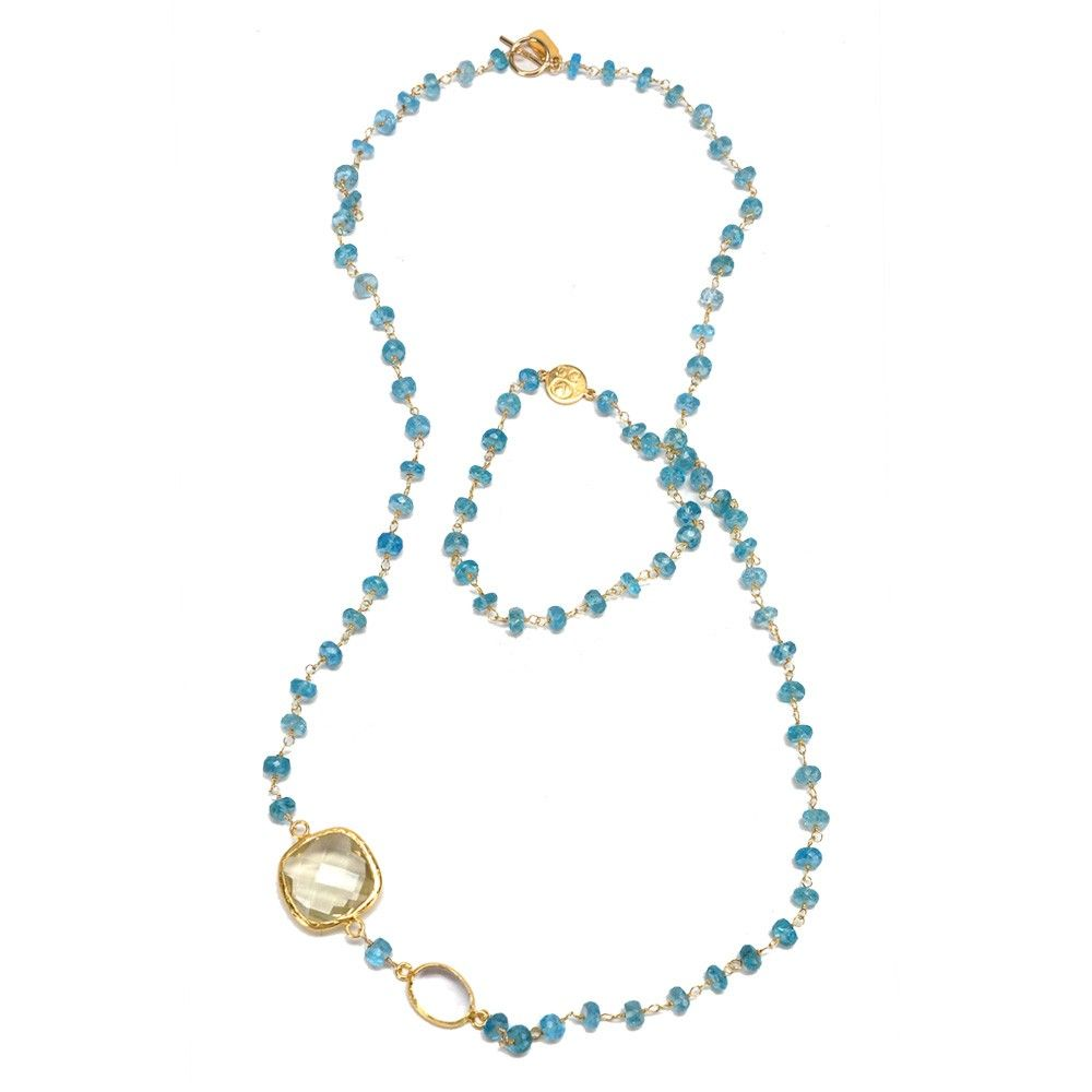 Apatite Chain Necklace- Coralia Leets Necklace | Fragments