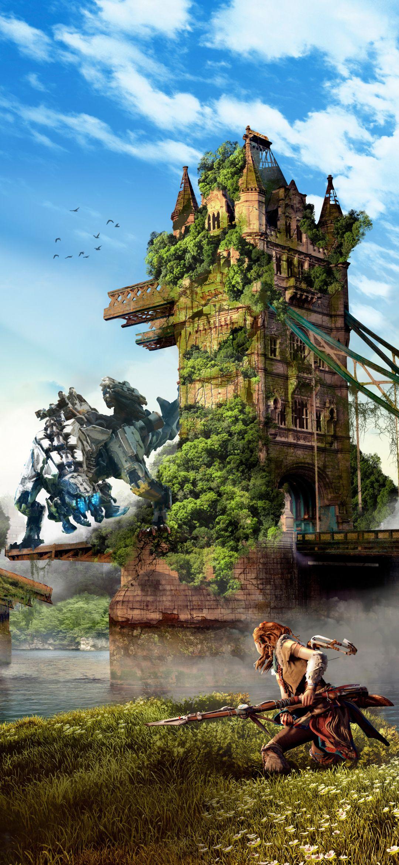 Game Horizon Zero Dawn Mobile Wallpaper Descargas De Fondos De