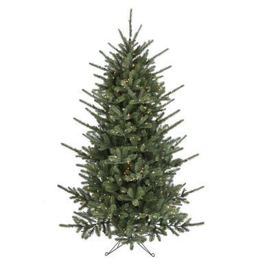 9' LED Spike Pine Christmas Tree with 700 Clear LED Lights #MTX50672L