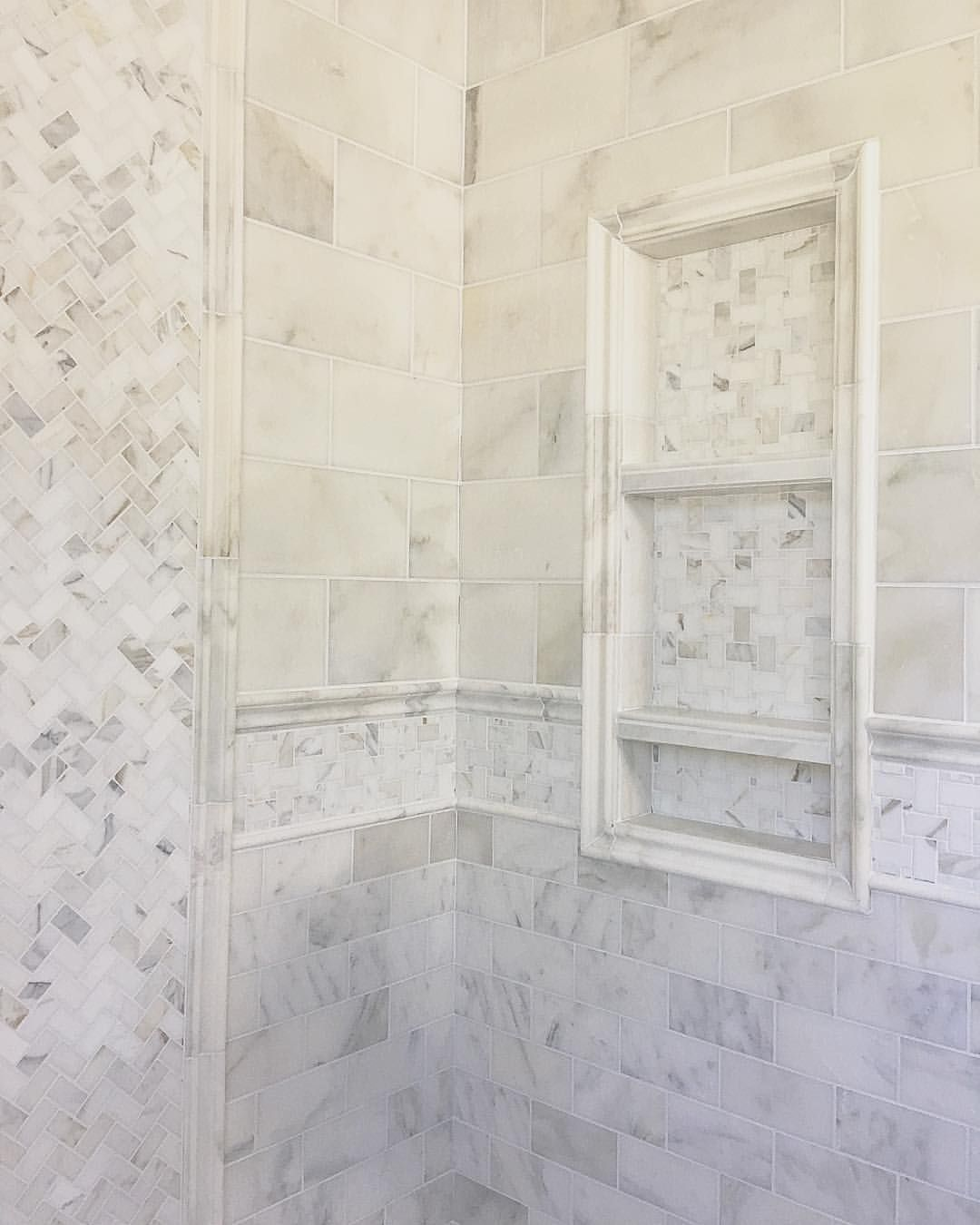 15 Likes 1 Comments Tilebuys Com Tilebuys On Instagram Two Lots Of Calacutta Gold We Shower Tile Calcutta Gold Marble Bathroom Arabesque Tile Bathroom