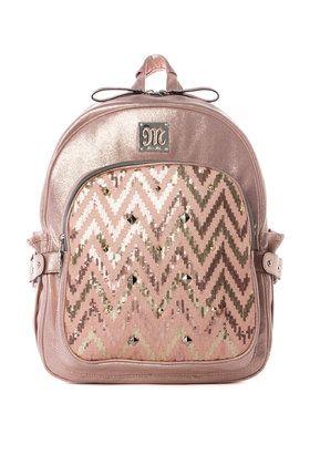 bff2af70a8 Heather Chevron Shimmer Backpack