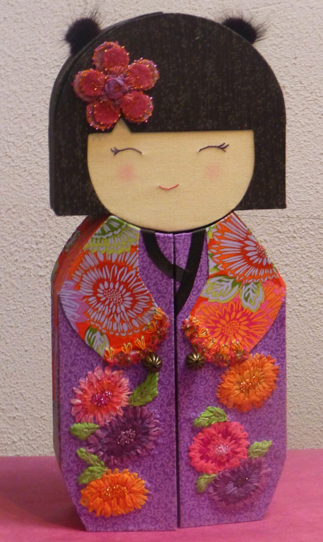 017f89c4fac Notice technique de kit de cartonnage pour réaliser une boite à bijoux  kokeshi   Tutoriels de fabrication par la-petite-boutique-du-cartonnage