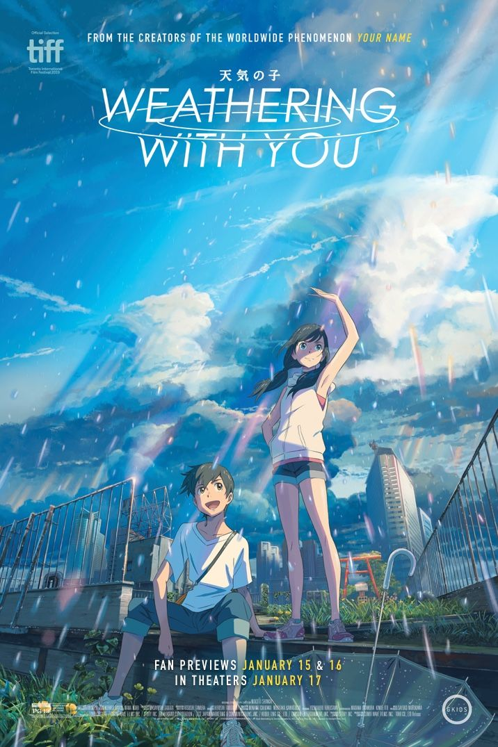 Weathering With You Get Tickets GKIDS Films Japanese