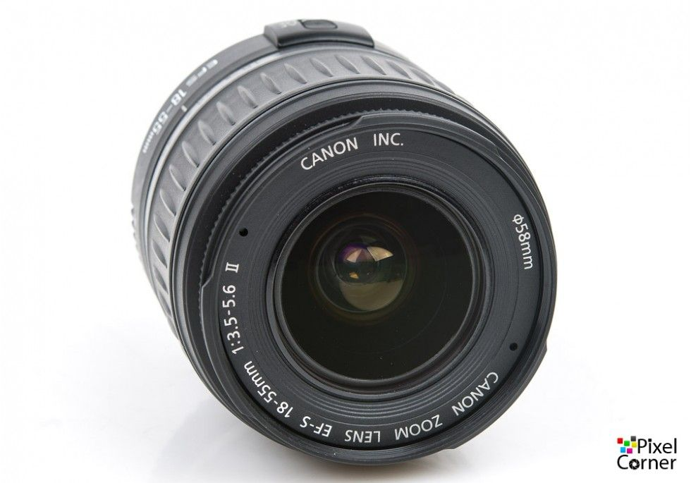 Canon Ef S 18 55mm F 3 5 5 6 Ii Standard Zoom Lens For Digital 7560005660 Used Secondhand Standard Zoom Lens Canon Zoom Lens