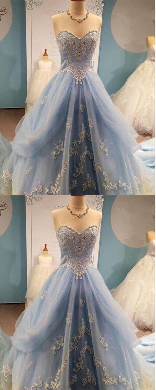 Lace embroidery sweetheart organza layered quinceanera dresses ball