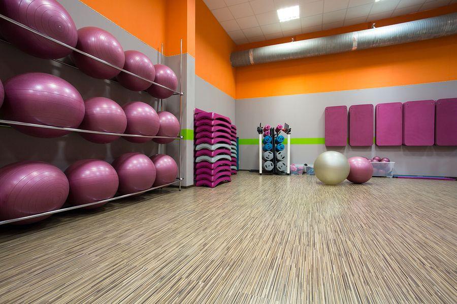 Ball 7 Mat storage in 2019 Coretec flooring, Fitness