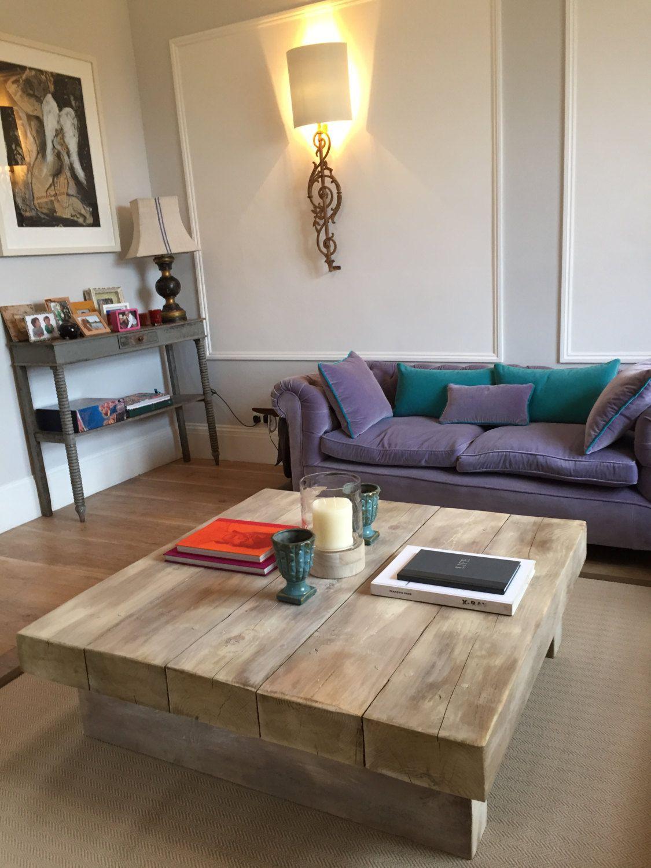 Extra Chunky Large Solid Wood Distressed Handmade Coffee Table Caveman Furniture Diy Coffee Table Wood Coffee Table Rustic Handmade Coffee Table