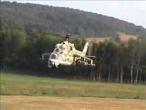 Maior helicóptero de controle remoto do mundo é reprodução de Mi-24