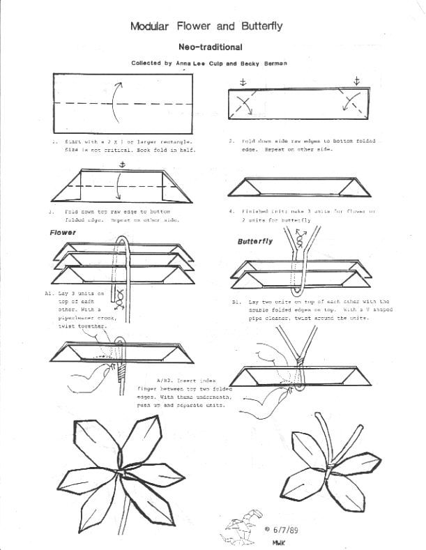 nice origami flowers diagrams origami pinterest origami rh pinterest com origami flowers diagrams origami flowers diagrams ''advanced''