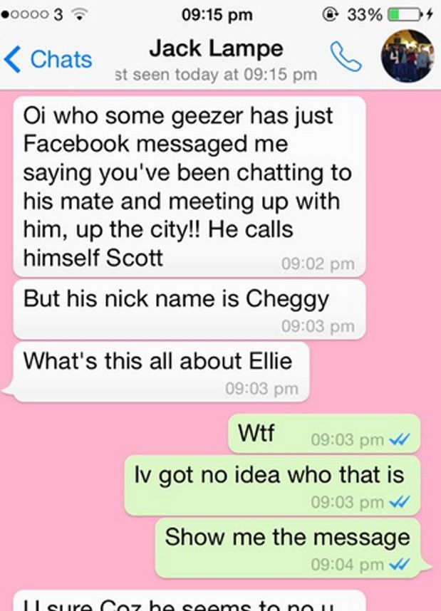 Ellie And Jack Lampie Funny Whats app Chat Funny