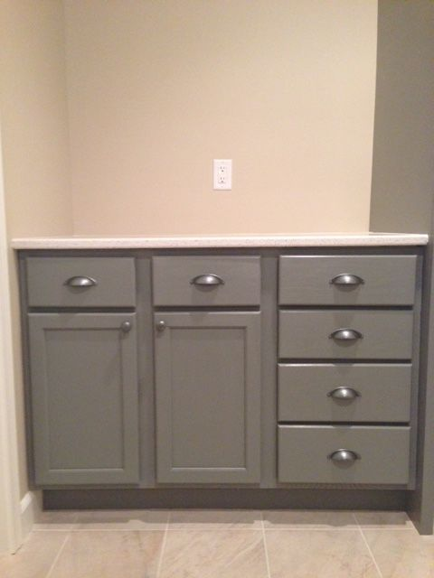 Best Here Are Our Finished Lower Cabinets Painted Sw Classic 640 x 480