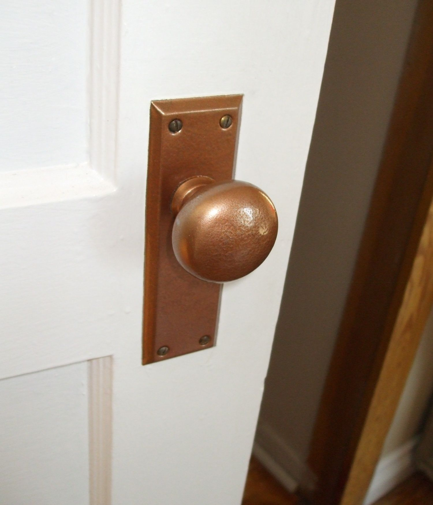 Clean And Re Finish Old Door Knobs And Hardware