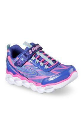 Skechers Girls' Lumos Sneaker-Girls Toddler/Youth Sizes - Blmt-Blue - 12M Toddler