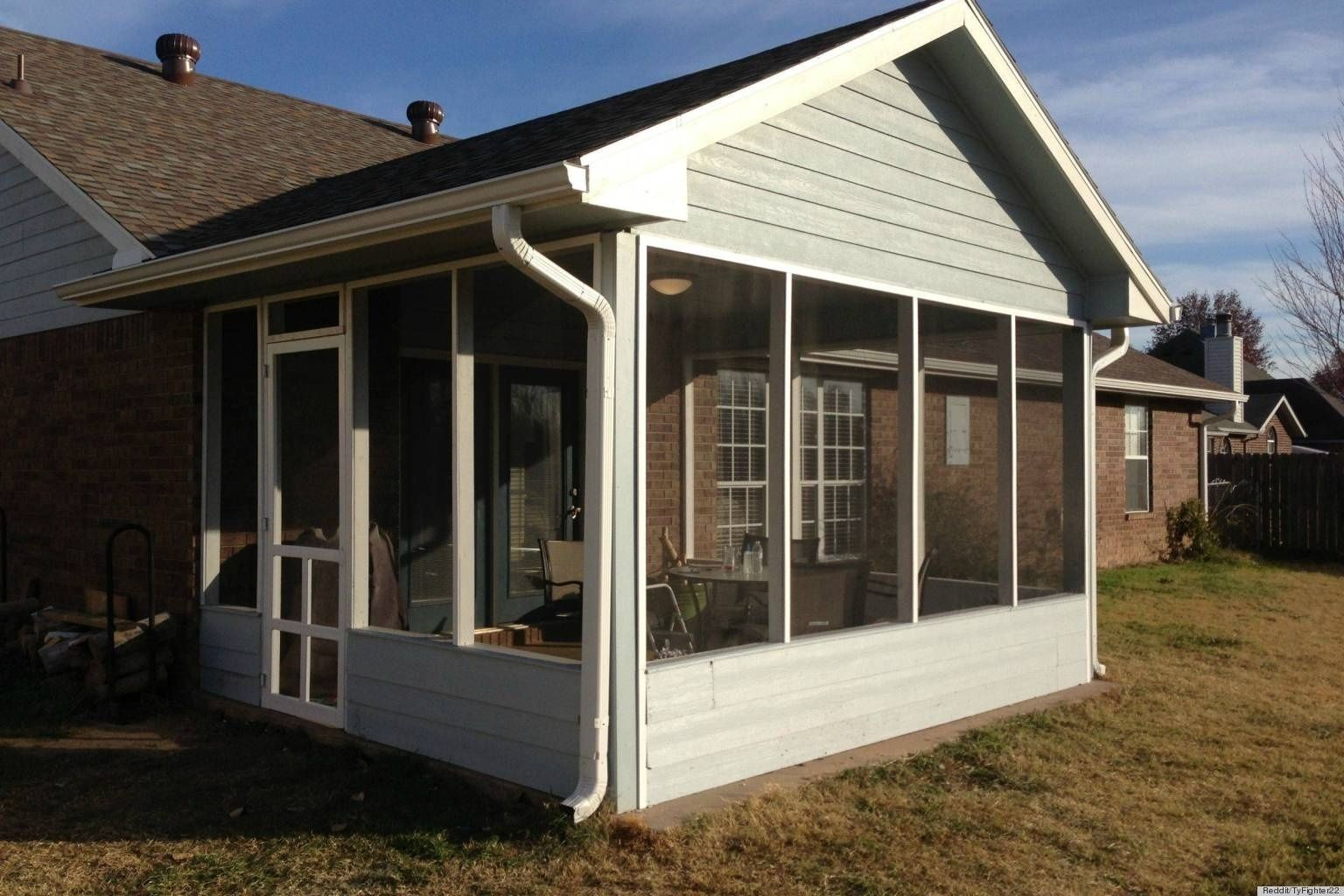 do it yourself screen porch kits