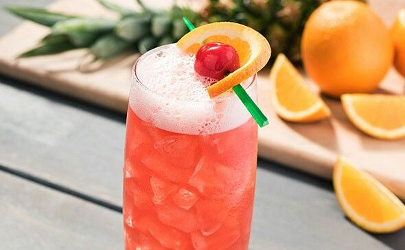 olive garden milan mai tai 15 oz malibu coconut rum 5 oz amaretto 1oz grenadine 1oz pineapple 5 oz sour mix stirred pour over ice - Olive Garden Yakima