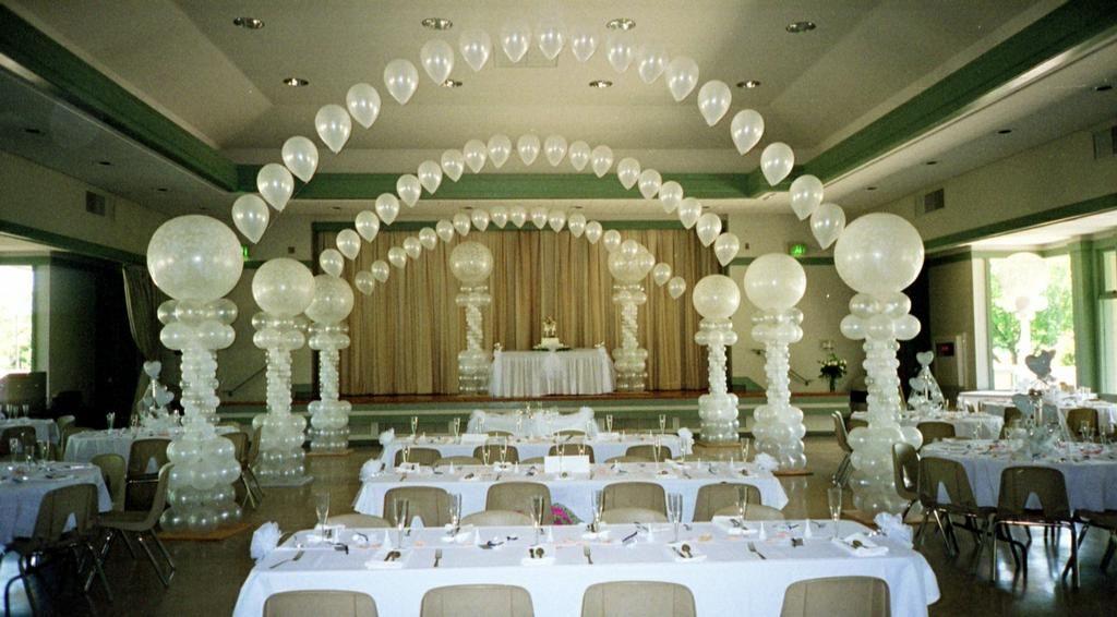 Wedding Balloons Balloonscharlotte.com- Charlotte, NC