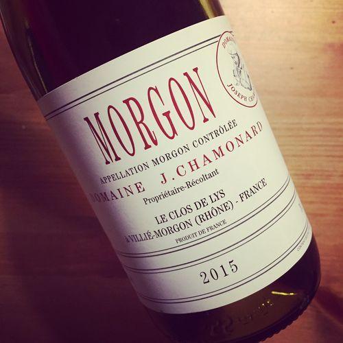Domaine Joseph Chamonard Le Clos de Lys Morgon 2015 #dansmonverre