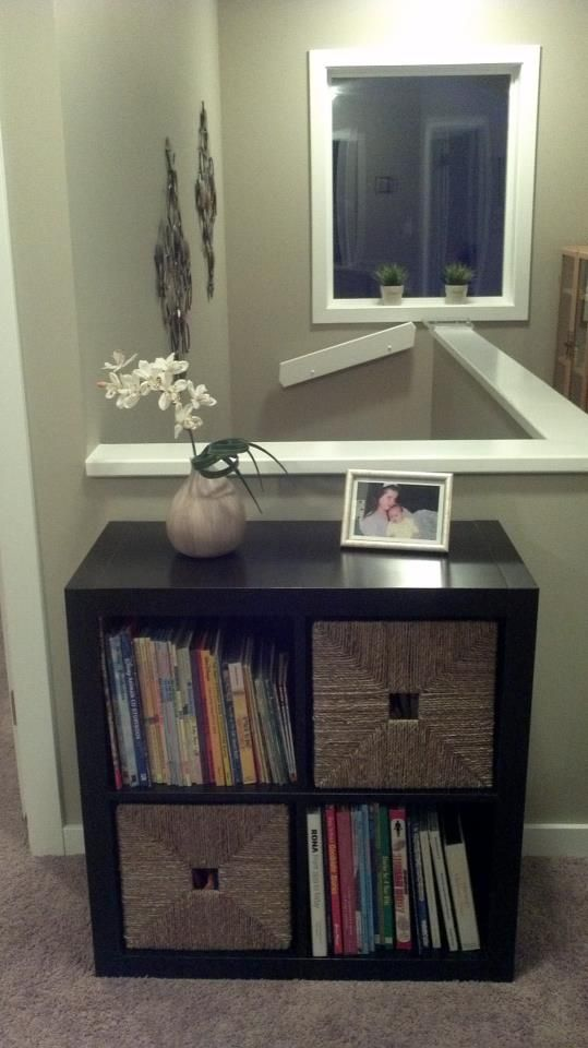 Genius Idea Ikea Expedit Shelves With Baskets For Storage: EXPEDIT Shelf And Two KNIPSA Baskets From IKEA Are The