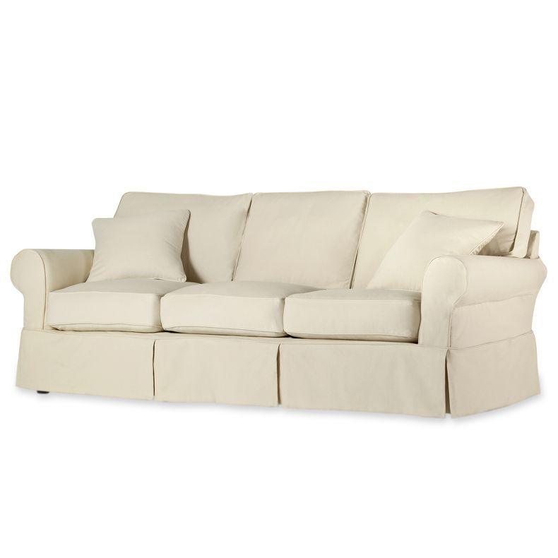 Jcpenney Friday Twill 91 Quot Slipcovered Sofa Jcpenney