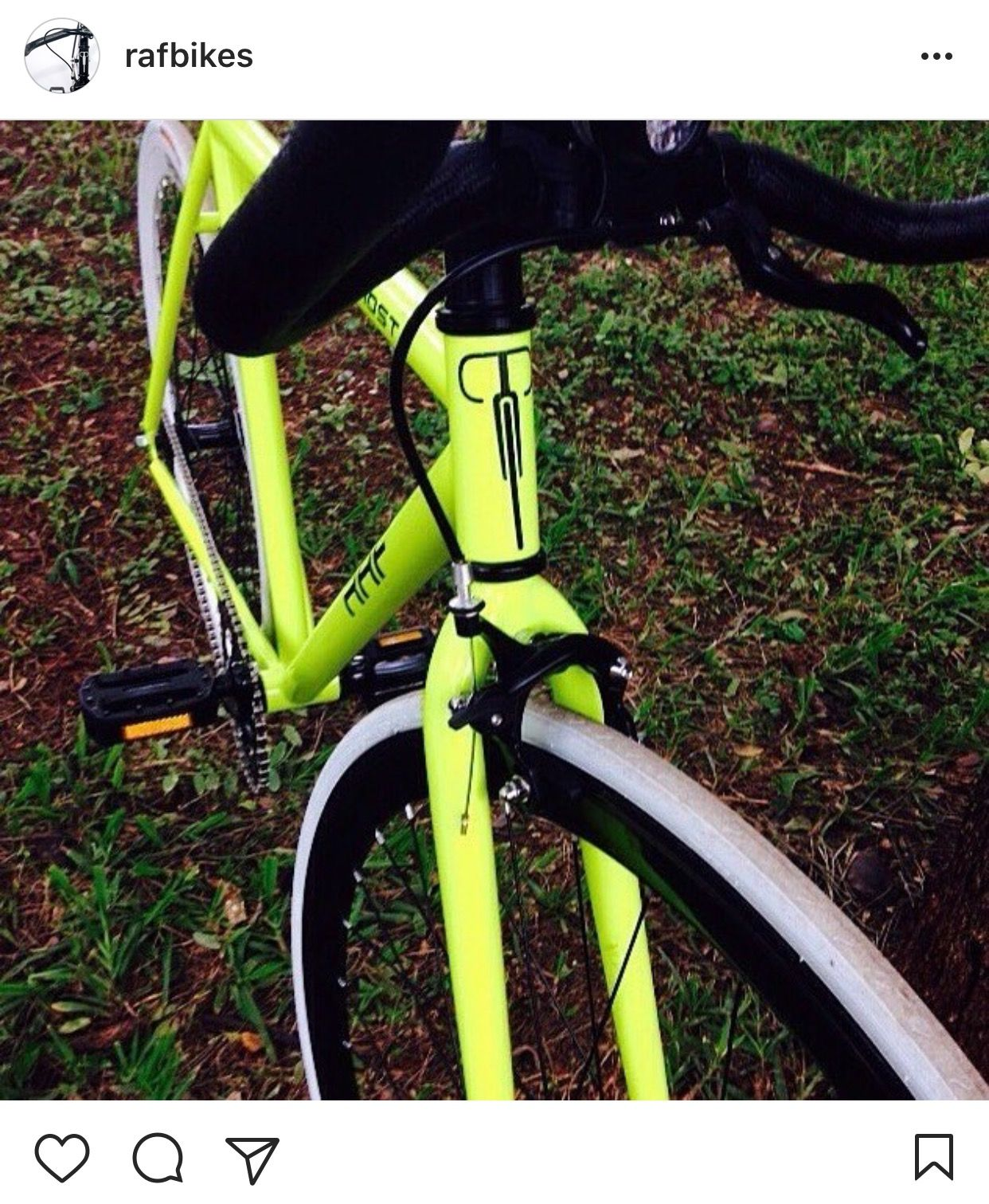 Fixed Gear - Bike fixa RAF