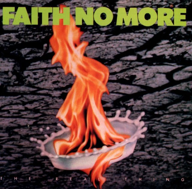 Faith No More - Can listen to this classic early 90's rock album over and over again. Stunning.