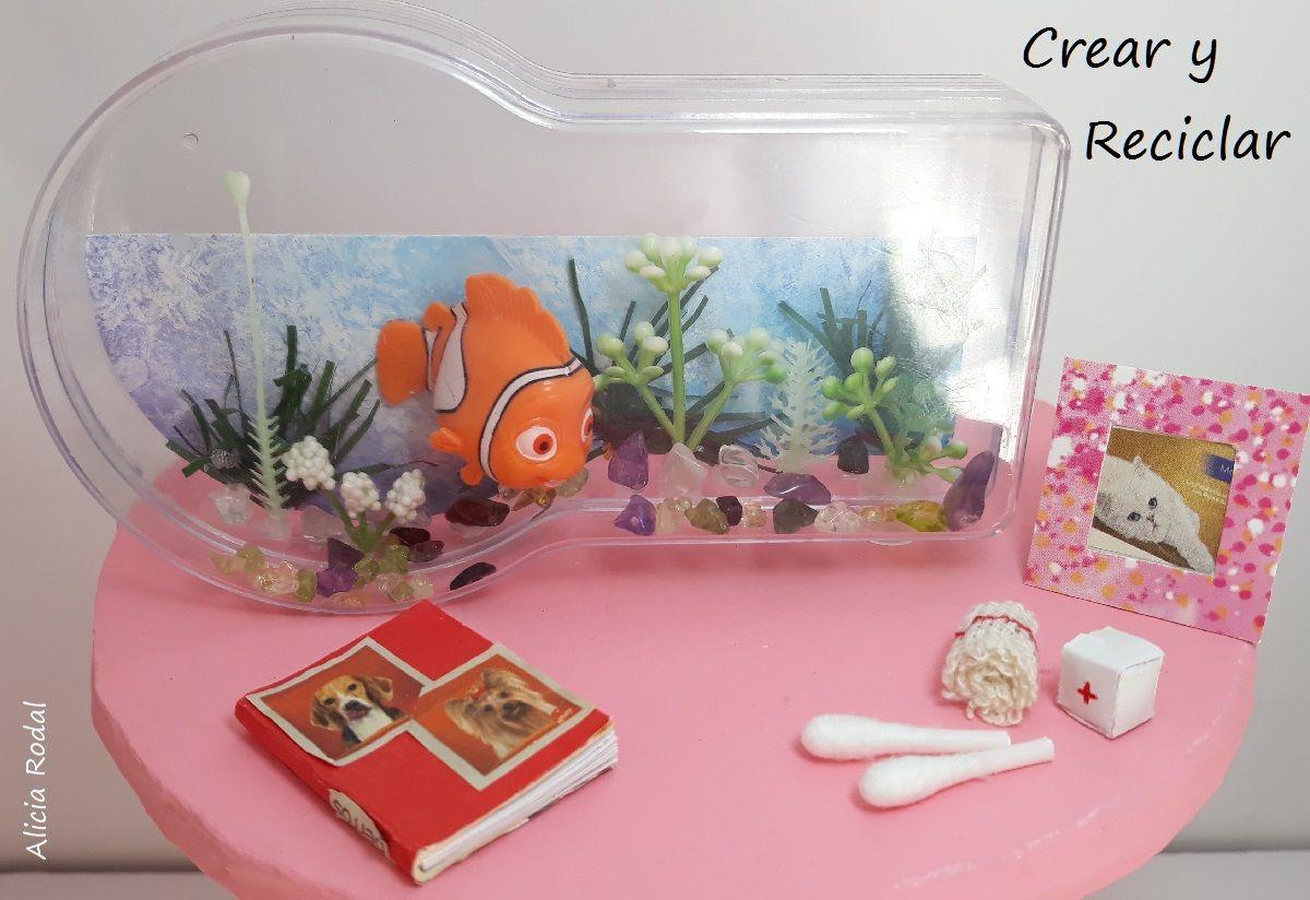 Ideas De Miniaturas Para La Muñeca Veterinaria Fácil Y Con Material Reciclado Suscríbete A Mi Blog Carpeta Miniaturas Manualidades