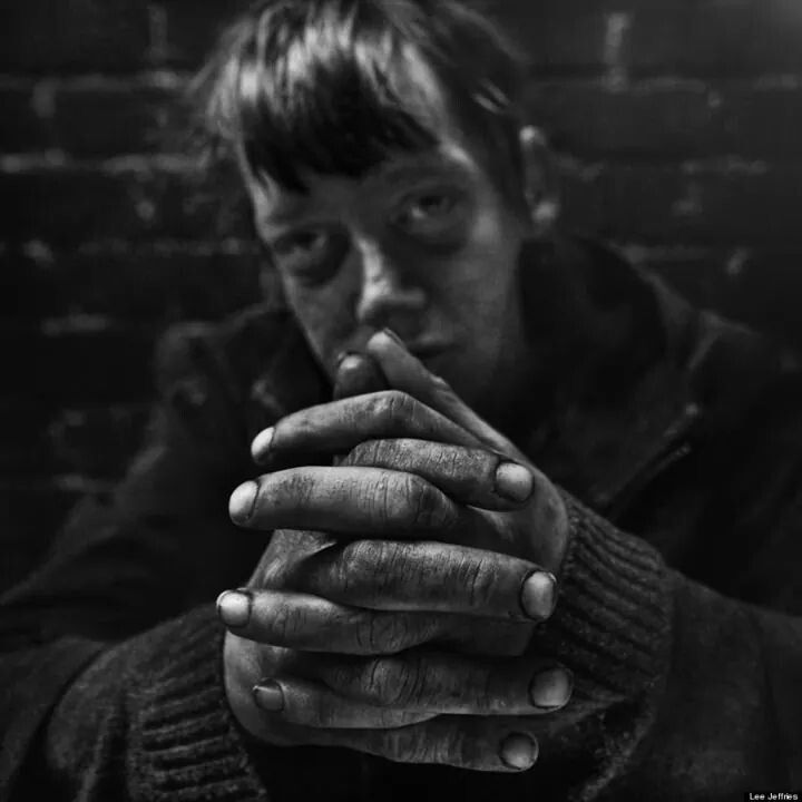 Photographer Lee Jeffries Striking Portraits Will Change: Lee Jeffries Portrait De Sans-abri