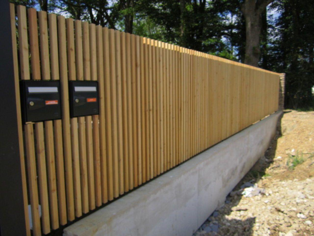 afficher l 39 image d 39 origine cl ture pinterest cloture bois bois et cloture jardin. Black Bedroom Furniture Sets. Home Design Ideas