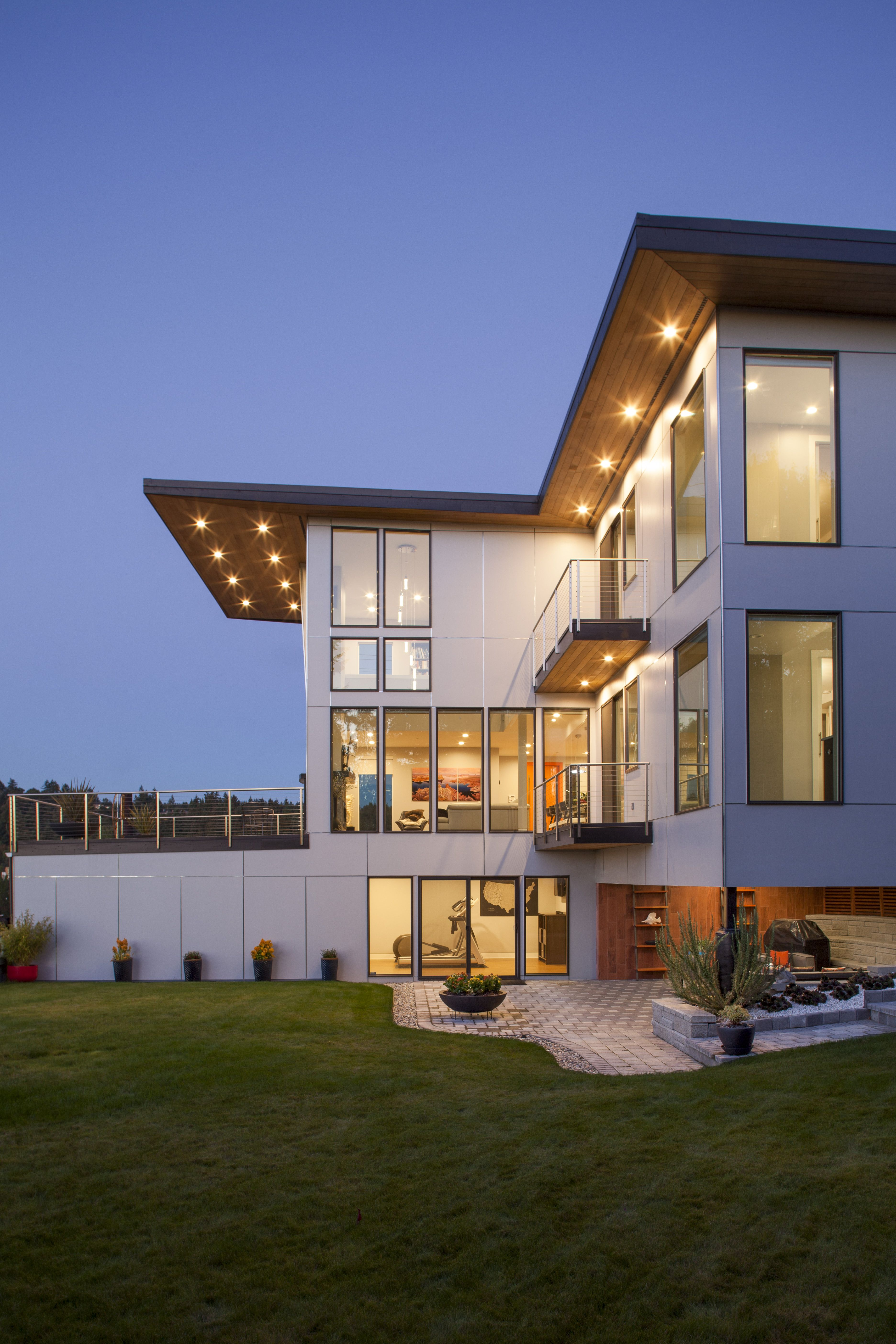 Modern House Designed By First Lamp Architects And Builders In Bellevue Washington Arquitectura