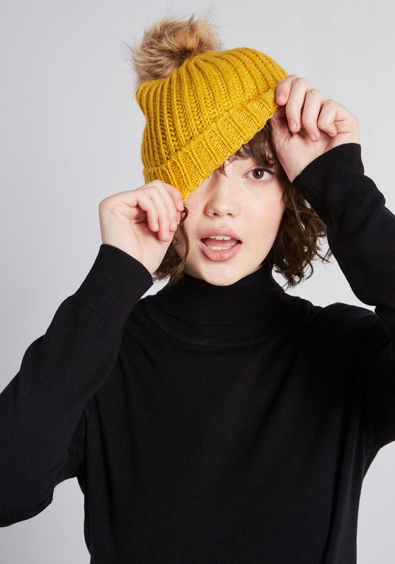 21c0a21ab8f Warming Signal Knit Beanie in 2018