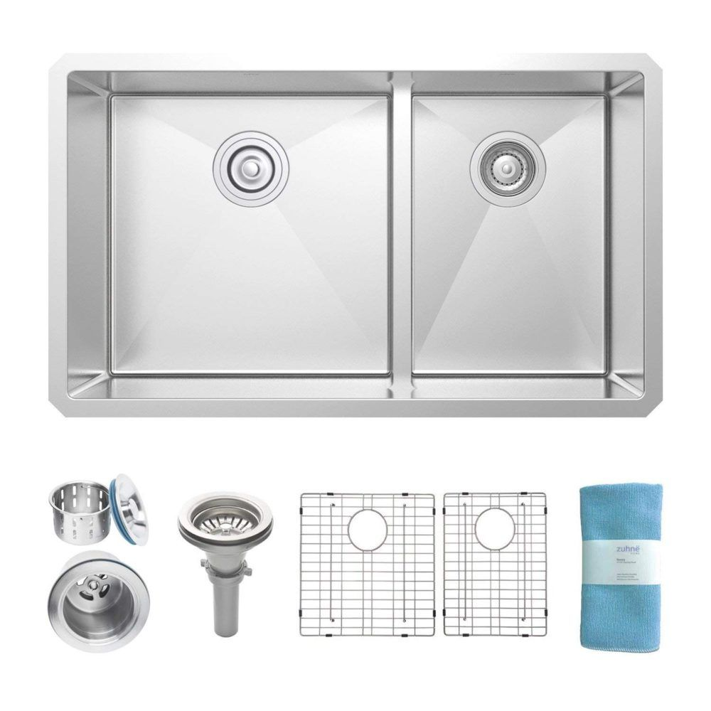 9 Best Stainless Steel Kitchen Sinks Plus 1 To Avoid 2020 Buyers Guide Freshnss Stainless Steel Kitchen Sink Stainless Steel Farmhouse Sink Stainless Steel Kitchen