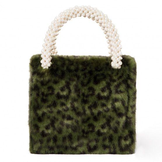 1de2c539c0 Una Bag - Shrimps Leopard Print Bag