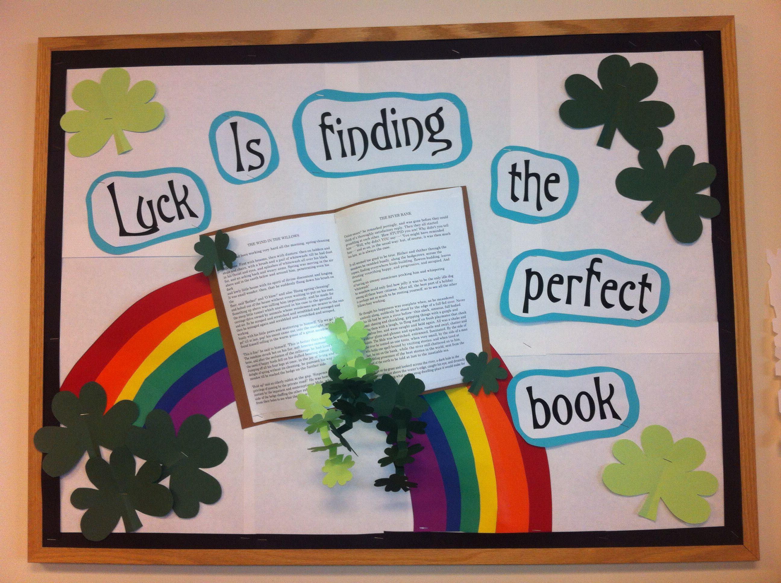 St Patricks Door Decorations Classroom