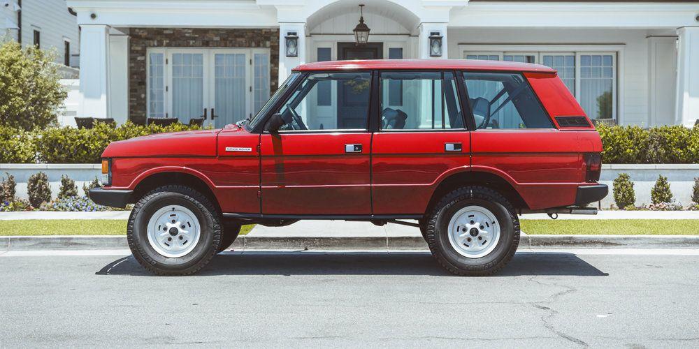 Heritage Range Rover Brooklyn Coachworks Range Rover Classic Range Rover Heritage