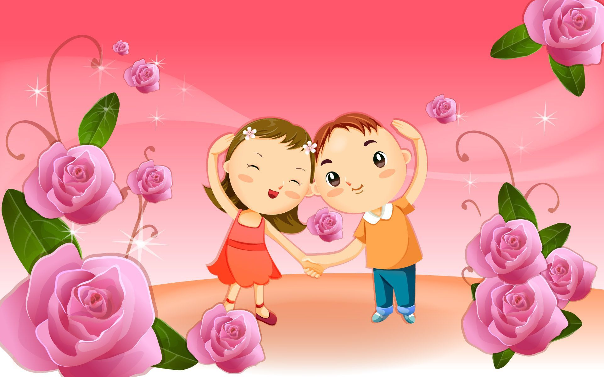 Love Cartoon Wallpapers Wallpaper Cave Happy Friendship Day Friendship Day Wallpaper Friendship Wallpaper