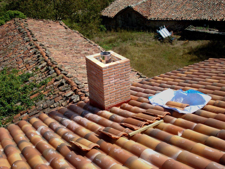 Salida de humos chimenea obra en agurain outdoor - Chimeneas de obra ...