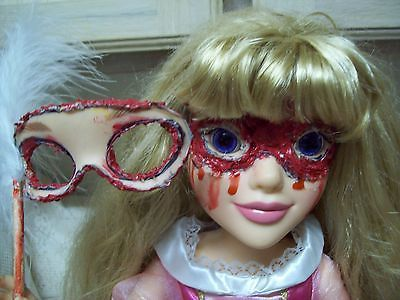 Zombie Baby Horror Doll Masquerade Skin Mask Halloween Haunted House Prop