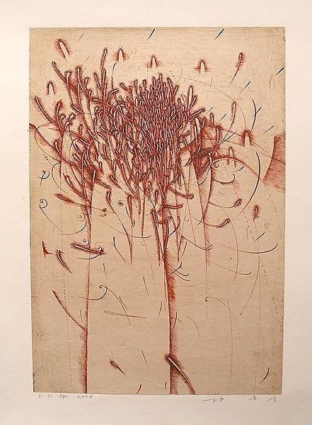 jwstudio: D-21 April 2006, 2008. Takahiko Hayashi. Drawing Ink on paper 16.75 x 11.25 inches (via FROELICK GALLERY - Takahiko Hayashi)