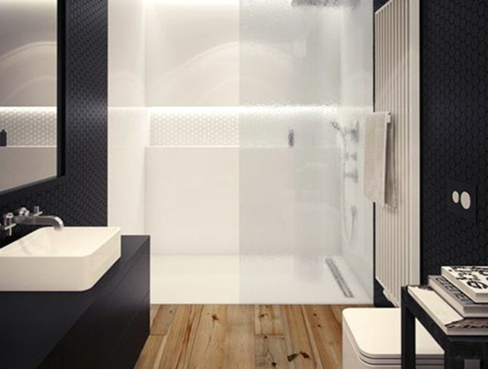 La salle de bain avec douche italienne 53 photos! Salle de bain