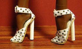 Barbie shoes tutorial